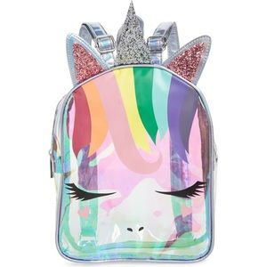 🦄 OMG Iridescent Unicorn Mini Backpack